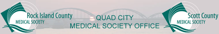 Quad City Medical Society Office graphic